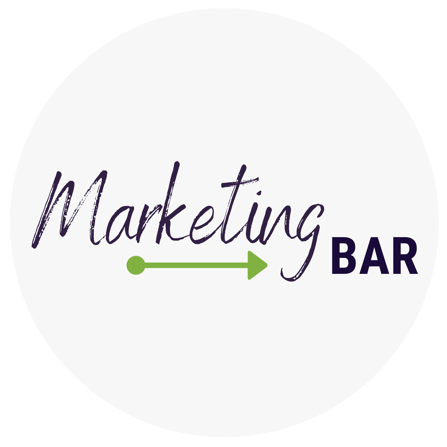 Marketing Bar Logo rund